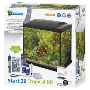SuperFish - Start 30 Tropical Kit Zwart