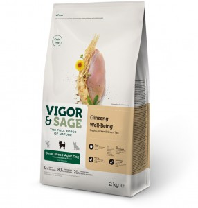 Vigor & Sage - Ginseng Well-Being Small Breed