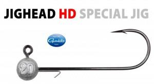 Productafbeelding voor 'Spro - Round HD Jig Head 90'