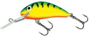 Salmo - Rattlin Hornet Floating - Green Tiger
