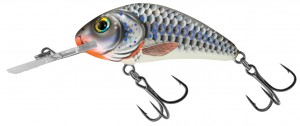 Salmo - Rattlin Hornet Floating - Silver Holographic Shad