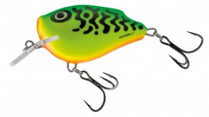 Salmo - Squarebill Floating - Green Tiger