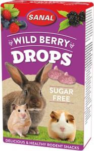 Sanal - Wild Berry Drops Suikervrij