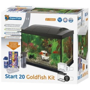 SuperFish - Start 20 Goldfish Kit Zwart