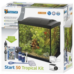 SuperFish - Start 50 Tropical Kit Zwart