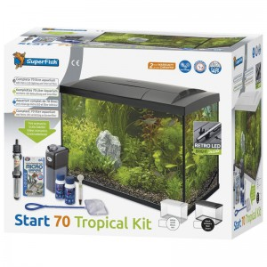 SuperFish - Start 70 Tropical Kit Zwart