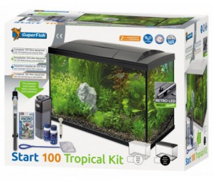 SuperFish - Start 100 Tropical Kit Zwart