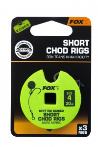 Fox - Edges Stiff Chod Rig Short