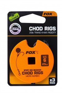 Fox - Edges Stiff Chod Rig Standard