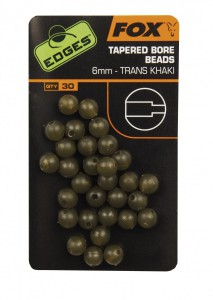 Image of Fox - Edges Tapered Bore Beads