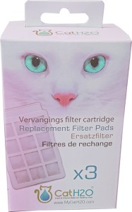 H2O - filtercartridge voor waterfontein H2O