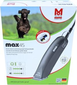 Moser - Tondeuse Max 45 Zwart