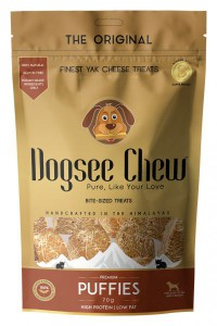 Dogsee Chew - Yak Cheese Puffies