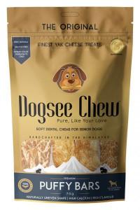 Dogsee Chew - Yak Cheese Puffy Bars