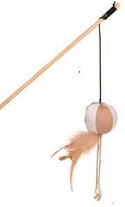 Petlando - Speelhengel, bal met veren