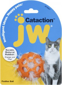 JW - Cataction Feather Ball