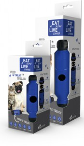 Eat Slow Live Longer - Feed and Treat - Blauw