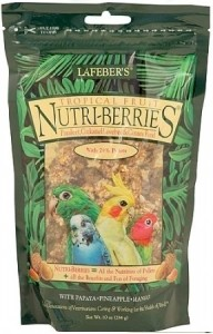 Lafeber - Nutri-Berries Tropical Fruit Parkiet