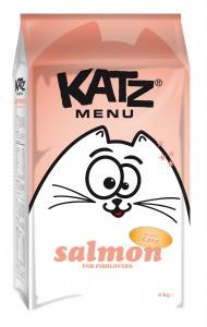 Katz Menu - Salmon
