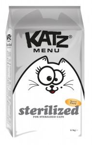 Katz Menu - Sterilized