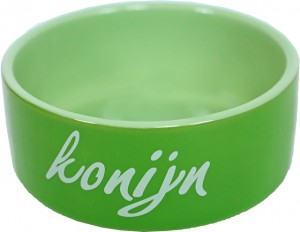 De Boon - Konijn Eetbak Steen 12 cm