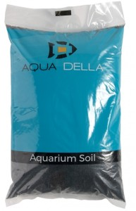 Aqua-Della aquariumgrind zwart 1-3mm