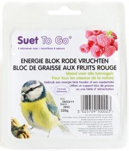 Suet To Go - Energie Blok Rode Vruchten