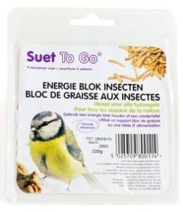 Suet To Go - Energie Blok Insecten