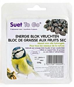 Suet To Go - Energie Blok Vruchten