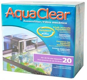 Aquaclear - 20 power filter tot 75L