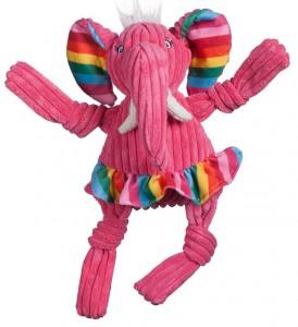 Huggle Hounds - Rainbow Elephant Knottie