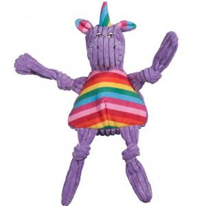 Huggle Hounds - Rainbow Unicorn Knottie