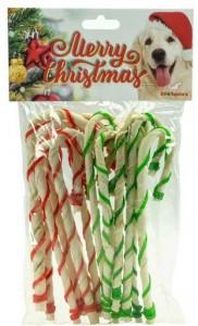 Kerstsnack - Twisted Wandelstokken