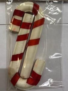 Kerstsnack - Duo Wandelstok 15 cm