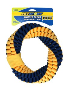 Pet Sport - Twisted Chews Infinity Ring