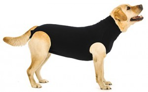 Suitical Recovery Suit Hond - L - Zwart