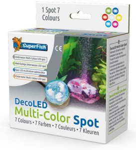 SuperFish - Deco LED Meerkleuren Spot