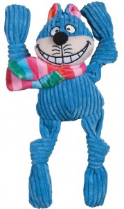 Huggle Hounds - Rainbow Cheshire Cat Knottie
