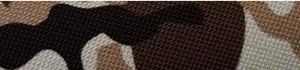 Tre Ponti - Fibbia Camouflage Bruin