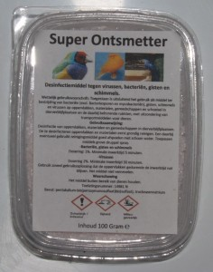 Sjoerd Zwart - Super Ontsmetter