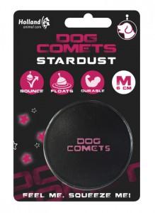 Dog Comets Ball Stardust - Zwart / Roze