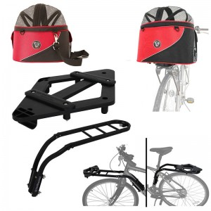 Doggyride - Hondenfietsmand Cocoon XL Rood