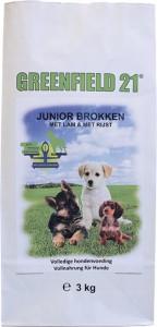 Greenfield 21 - Lam & Rijst - Puppy/Junior