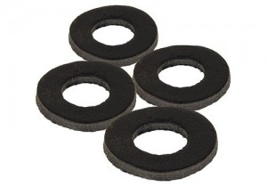 Fox - Black Label Leather Washers Beetmelder Rubbers