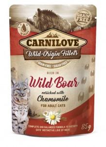 Carnilove - Pouch Wild Zwijn verrijkt met kamille