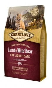 Carnilove - Lam & Wild Zwijn Sterilised