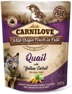 Carnilove - Pouch Kwartel verrijkt met paardenbloem, Sterilized