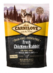 Carnilove - Verse kip & Konijn Adult