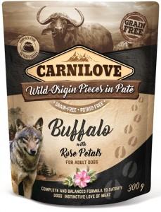 Carnilove - Pouch Buffalo met rozenblaadjes