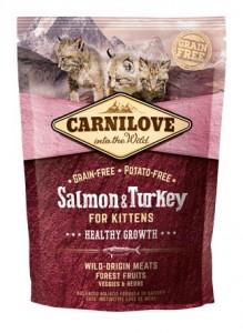 Carnilove - Zalm & Kalkoen Kitten